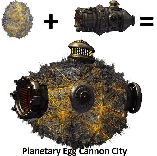 Planetary Egg Cannon City
