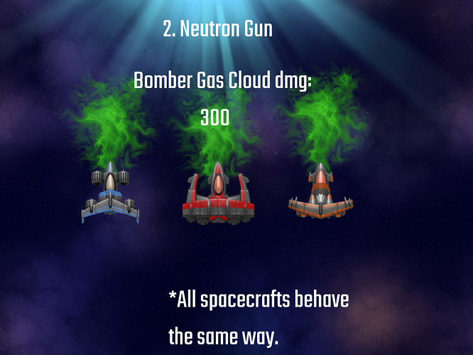 Neutron Gun Bombers