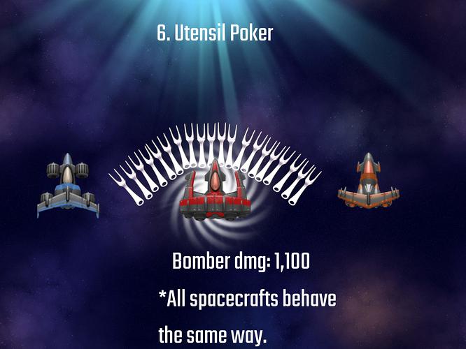 Utensil Poker Bombers