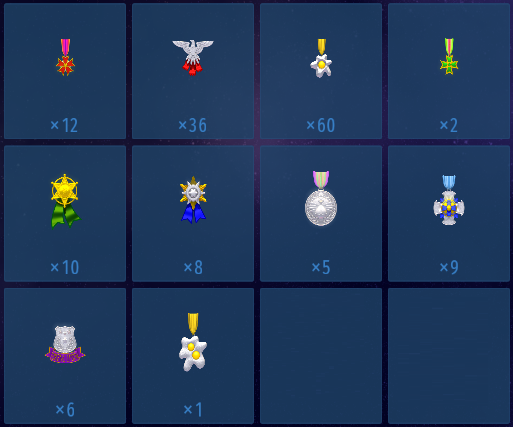 Career Medals