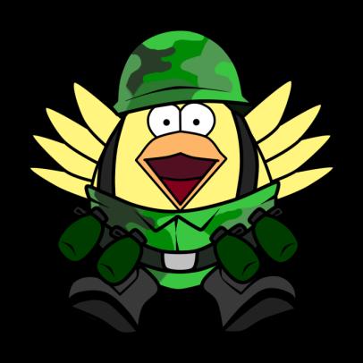 military fan