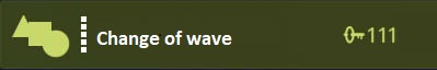 Change of wave